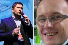 Z lewej strony Krzysztof Kanawka, założyciel jednego z najlepszych startupów kosmicznych w Europie, a także Piotr Merks, twórca lekolepek.