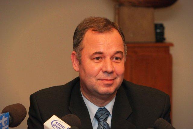 Prezes KGHM Krzysztof Skóra bardzo ceni sobie usługi swojego kierowcy