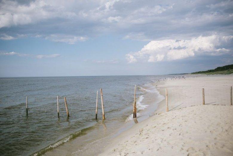 Przekop Mierzei Wiślanej może zniszczyć część bałtyckich plaż