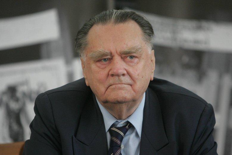 Były premier Jan Olszewski nie żyje. Cieszył się estymą jako świetny prawnik