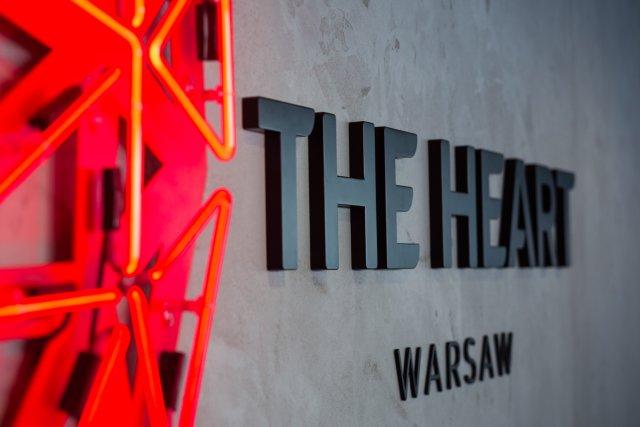 The Heart Warsaw znajduje się na 38 piętrze wieżowca Warsaw Spire