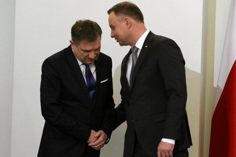 """Politolodzy i analitycy zgodnie uznają NSZZ """"Solidarność"""" za bliskiego sojusznika i zaplecze rządu PiS."""