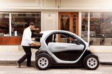 Niewielkie auto elektryczne Renault Twizy