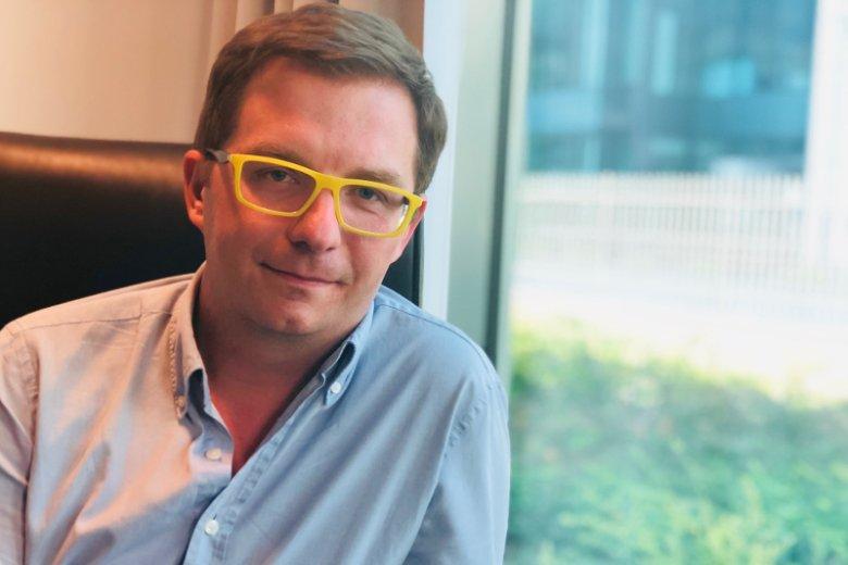 Łukasz Czernecki, prezes Edge One Solutions, firmy dostarczającej usługi IT, która prowadzi akcelerator eduLab