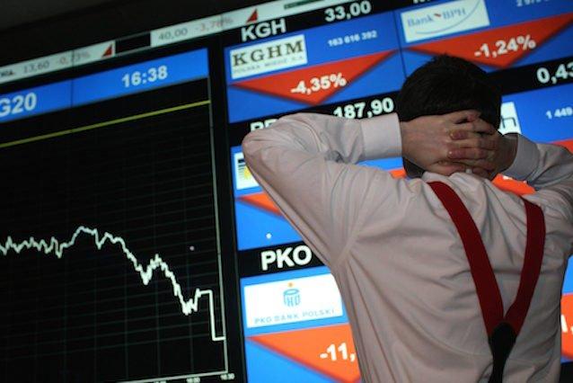 Gwałtowne zmiany kursów niektórych spółek to ostatnio stały krajobraz na GPW. (Zdjęcie poglądowe).