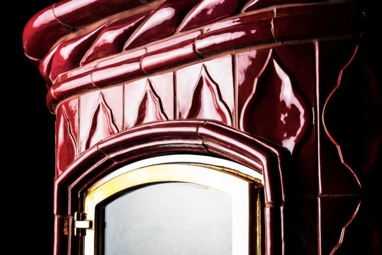 Piec Victoria z kafli szamotowych marki Heritage