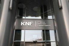 KNF zapowiedziała przedstawienie wszystkich 430 kryteriów, zgodnie z którymi podejmuje decyzję o wyrażeniu zgody na objęcie stanowiska szefa instytucji finansowej.