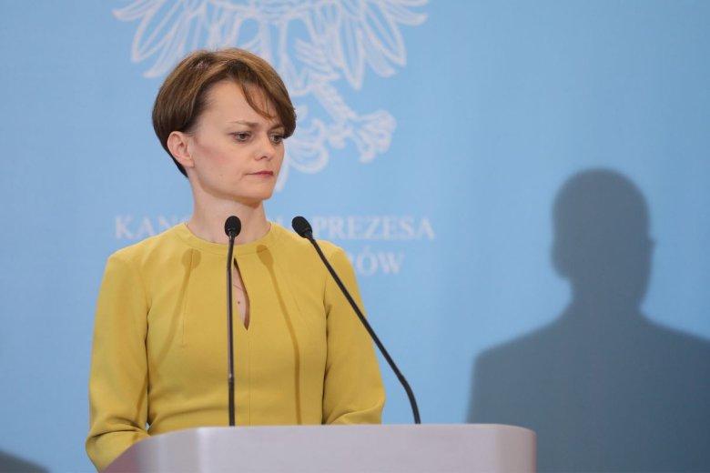 Jadwiga Emilewicz potwierdziła, że rząd na środowym posiedzeniu sejmu może zgłosić poprawkę, która wydłuży termin składania wniosków ws. cen prądu.