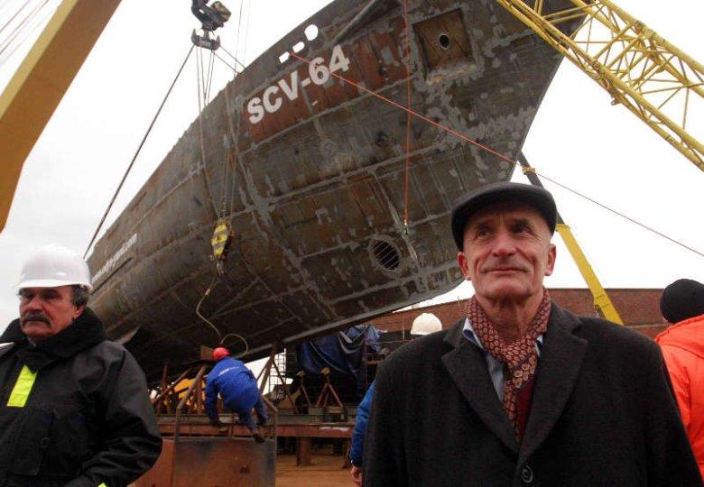 Zygmunt Choreń w stoczni