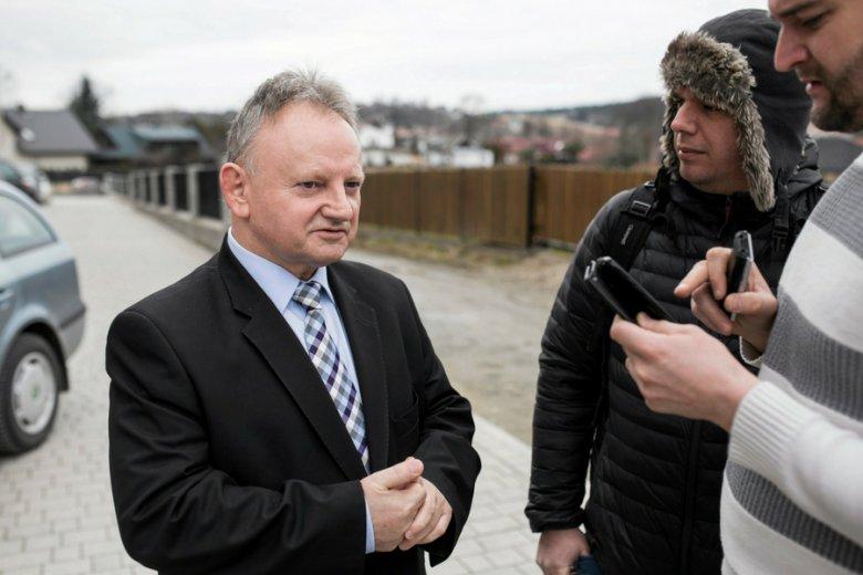 Burmistrz Muszyny Jan Golba. Rada Miasta Muszyna sprzeciwiła się obniżeniu jego pensji.