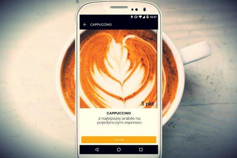 Cappuccino kosztuje w REBEL 3 punkty. To niecałe 6 złotych