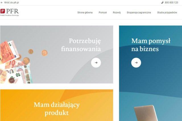 Polski Fundusz Rozwoju otworzył portal startup.pfr.pl