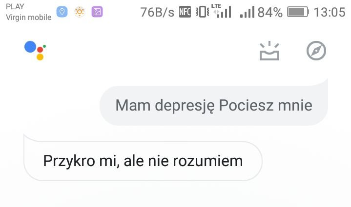 Google nie rozumie depresji?