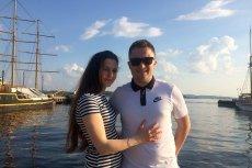 Jakub Juszczyk, Startuper Roku w konkursie firmy Total, z żoną