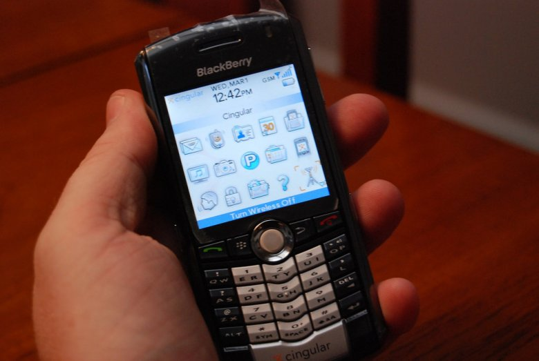Urządzenia Blackberry były przerabiane w taki sposób, by mogły służyć przestępcom.