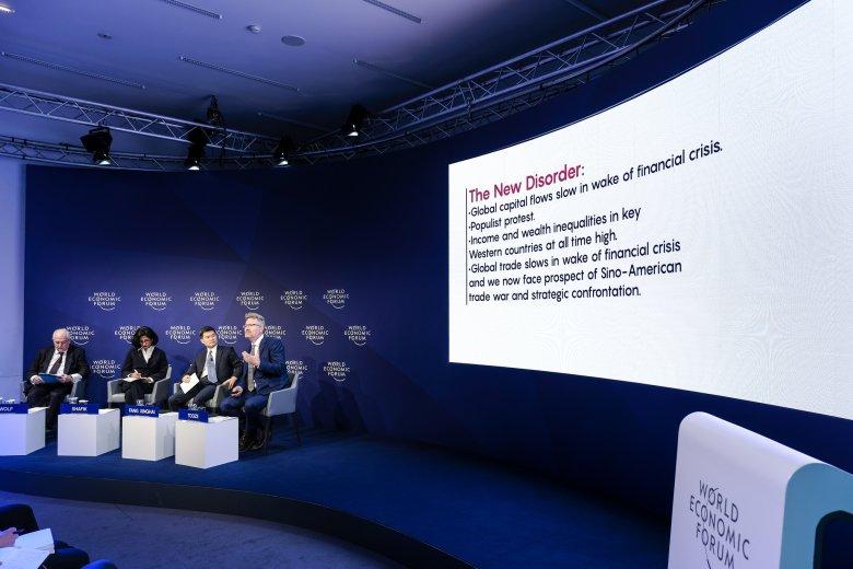 Nadciągające spowolnienie gospodarcze było jednym z tematów Światowego Forum Ekonomicznego w Davos