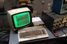 Oto komputer Commodore, używane w jednym z gdańskich serwisów.