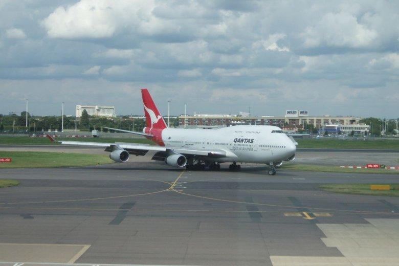 Qantas czeka na zgodę regulatorów przed uruchomieniem trasy Londyn-Sydney
