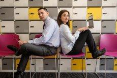 Krzysztof Pulkiewicz i Anna Ciesielska wspólnie zakładali start-up Atsora.