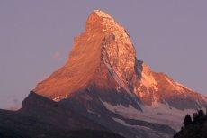 Jedną z najbardziej spektakularnych pozostałości po Wielkiej Adrii jest alpejski Matterhorn.