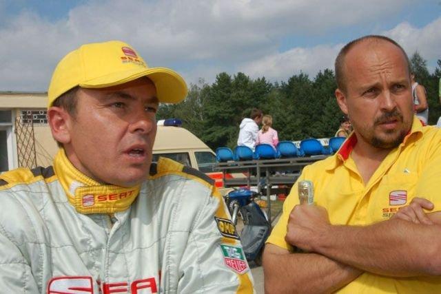 Marcin Z, na zdjęciu z prawej.
