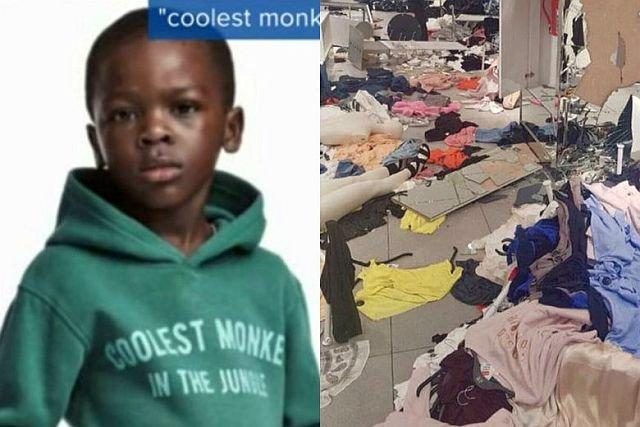 Sześć zdemolowanych sklepów, policja strzelająca gumowymi kulami w rozwścieczonych klientów i utrata kilku cennych kontaktów – to bilans publikacji zdjęcia w kampanii H&M