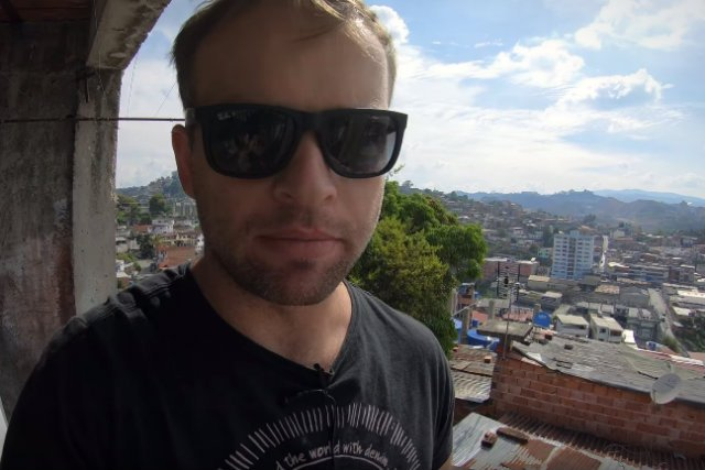 Bartek Czukiewski mieszka w Caracas od 8 miesięcy