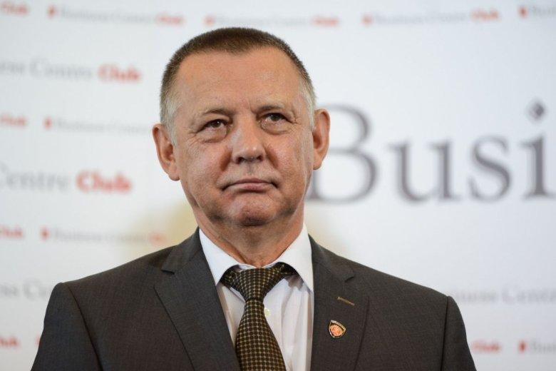 Twarzą projektu mikrorachunków podatkowych został Marian Banaś, minister finansów.