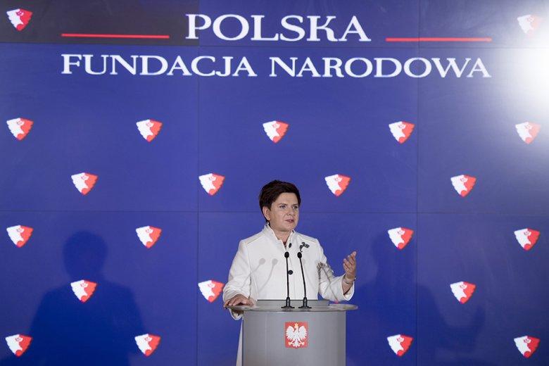 Premier Beata Szydło ogłosiła powołanie Polskiej Fundacji Narodowej - czy taka inicjatywa może wpłynąć na poprawę reputacji Polski?