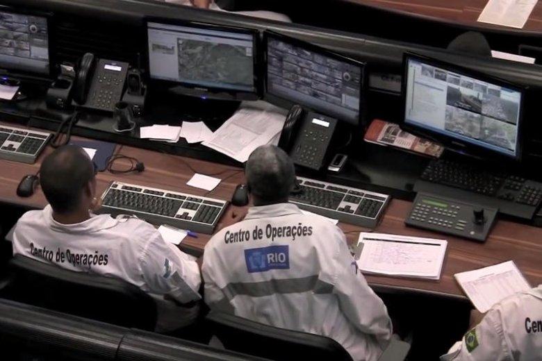 Pomieszczenie Centrum Operacyjnego w Rio.