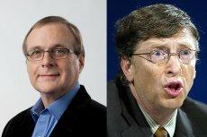 Paul Allen (po lewej) razem z Billem Gatesem (po prawej) założył Microsoft w 1975 roku. Odszedł z niej, gdy odkryto u niego rzadką chorobę. Obecnie prowadzi liczne biznesy i dysponuje kolekcją rezydencji, które wiele nie ustępują legendarnej willi Gatesa