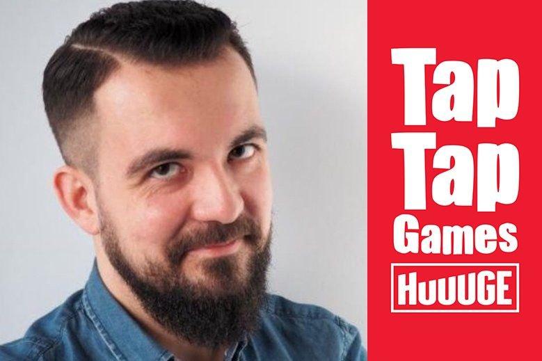 Łukasz Miądowicz odpowiada za współpracę Huuuge Games z zewnętrznymi deweloperami w ramach programu wydawniczego Tap Tap Games