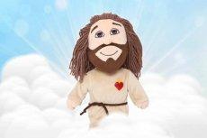 Pluszowy Jezus sprzedawany przez Dystrybucję Katolicką