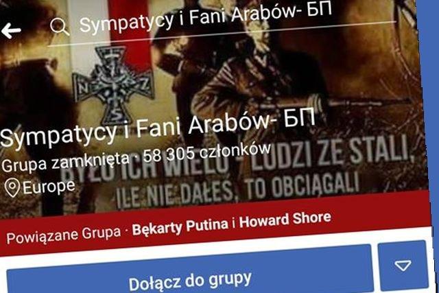 Jedna z grup przejętych przez trolli zwanych Bękartami Putina