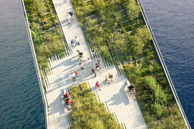 Architekci ze studia Urban Nouveau chcą uratować zabytek i wybudować pod nim 50 apartamentów, a na jego powierzchni stworzyć park miejski