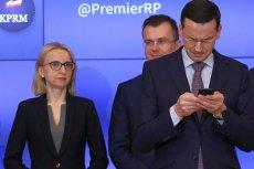 Minister Finansów Teresa Czerwińska i premier Mateusz Morawiecki uwielbiają ręczne sterowanie gospodarką
