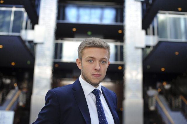 Daniel Arak, jeden z trzech założycieli Itmagination, polskiej spółki, której pierwszym klientem okazał się gigant farmaceutyczny Bayer z Niemiec.