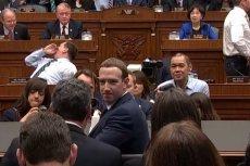 Przesłuchanie Marka Zuckerberga w amerykańskim Kongresie.