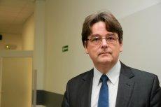 Prof. Leszek Szenborn, kierownik kliniki pediatrycznej we Wrocławiu.
