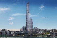 """Wizualizacja """"The Bride"""", wieżowca, który ma zostać wybudowany w Iraku, stając się tym samym najwyższym wieżowcem na świecie"""