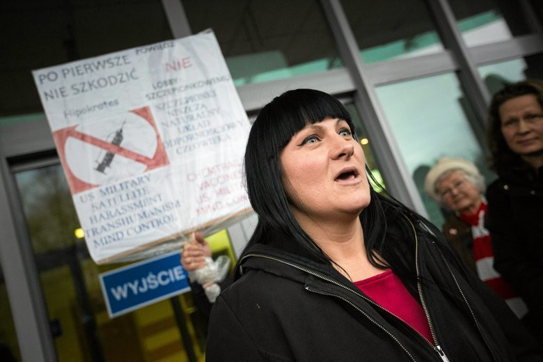 W Polsce twarzą ruchu antyszczepionkowego jest Justyna Socha