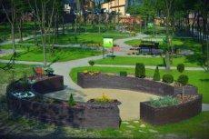 Ogród w Miechowie to pierwszy w Polsce ogród sensoryczny przy Domu Opieki Społecznej
