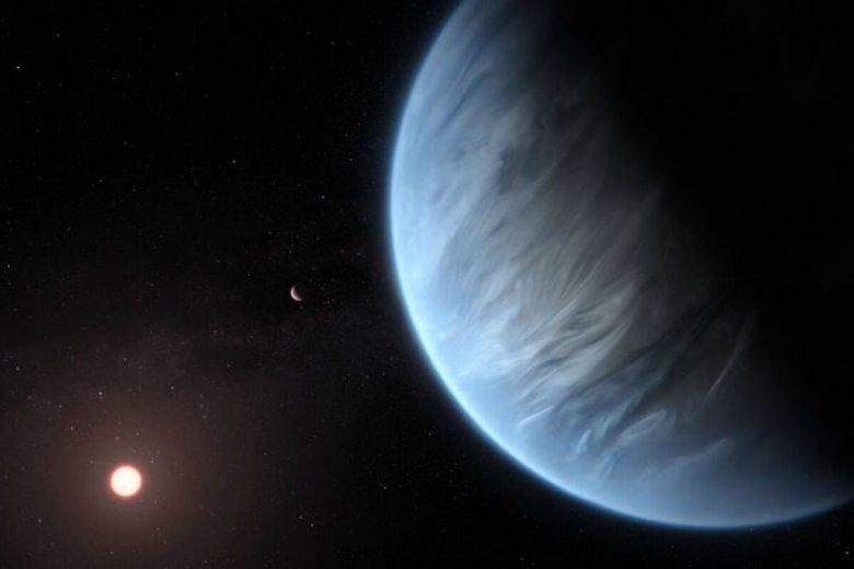 Super-Ziemia znajduje się bardzo blisko swej gwiazdy, okrążając ją w ciągu zaledwie 33 dni.