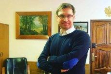 Robert Damski, właściciel kancelarii komorniczej z Lipna.