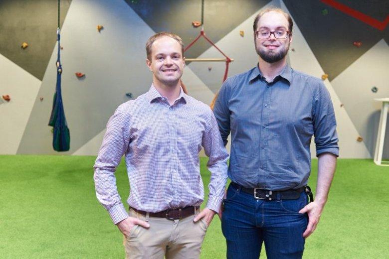 Marcin i Jacek Tchórzewscy, założyciele szkoły programowania Coders Lab.