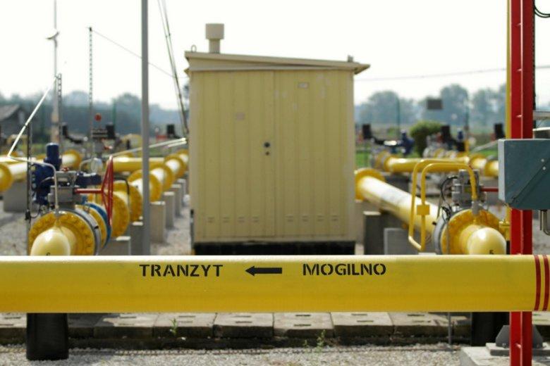 Węzeł gazowy w Gustorzynie.