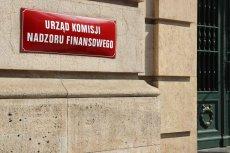Siedziba Urzędu Komisji Nadzoru finansowego.