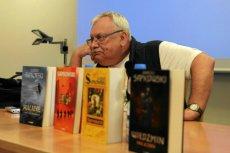 Andrzej Sapkowski, twórca serii o Wiedźminie.