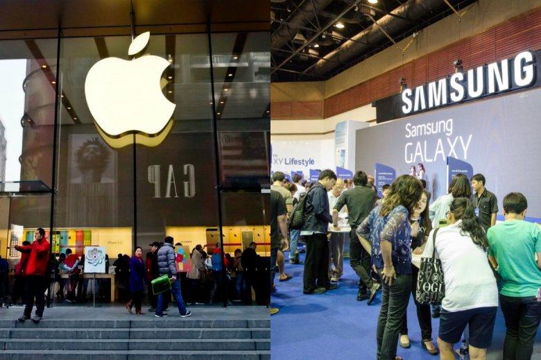 Na sprzedaży iPhone'a X od Apple zyska jego największy konkurent, czyli Samsung