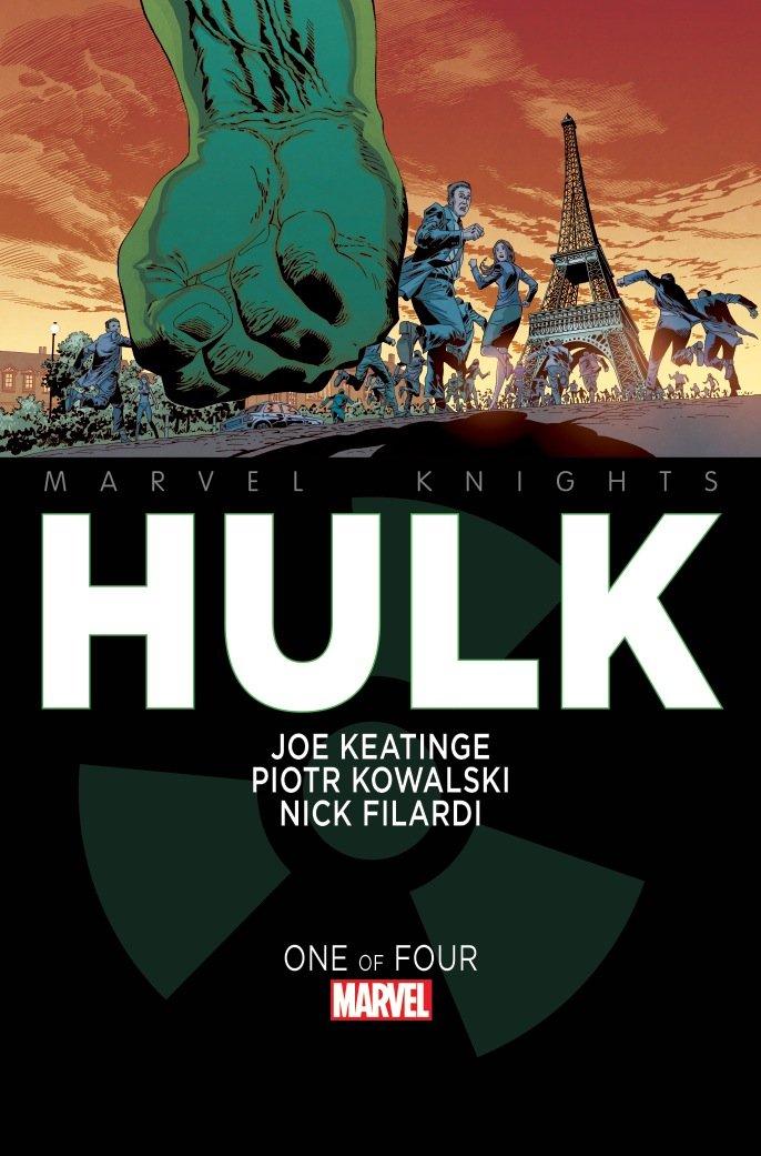 Okładka pierwszego Hulka, którego rysował Polak.